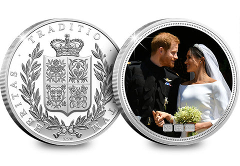 The Royal Wedding Silver Numisproof - The Westminster Collection International