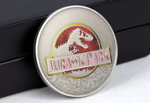 The Jurassic Park 25th Anniversary 1oz Silver Coin - The Westminster Collection International