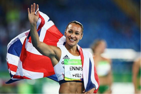 Jessica Ennis-Hill. The UK's Most Successful Female Athletes