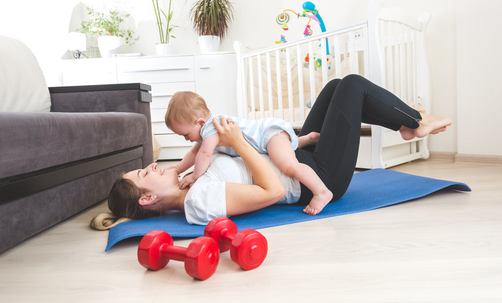 exercising while breast feeding