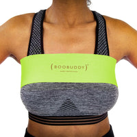 Boobuddy Adjustable Breast Support Band | Green | How to Wear a Boobuddy