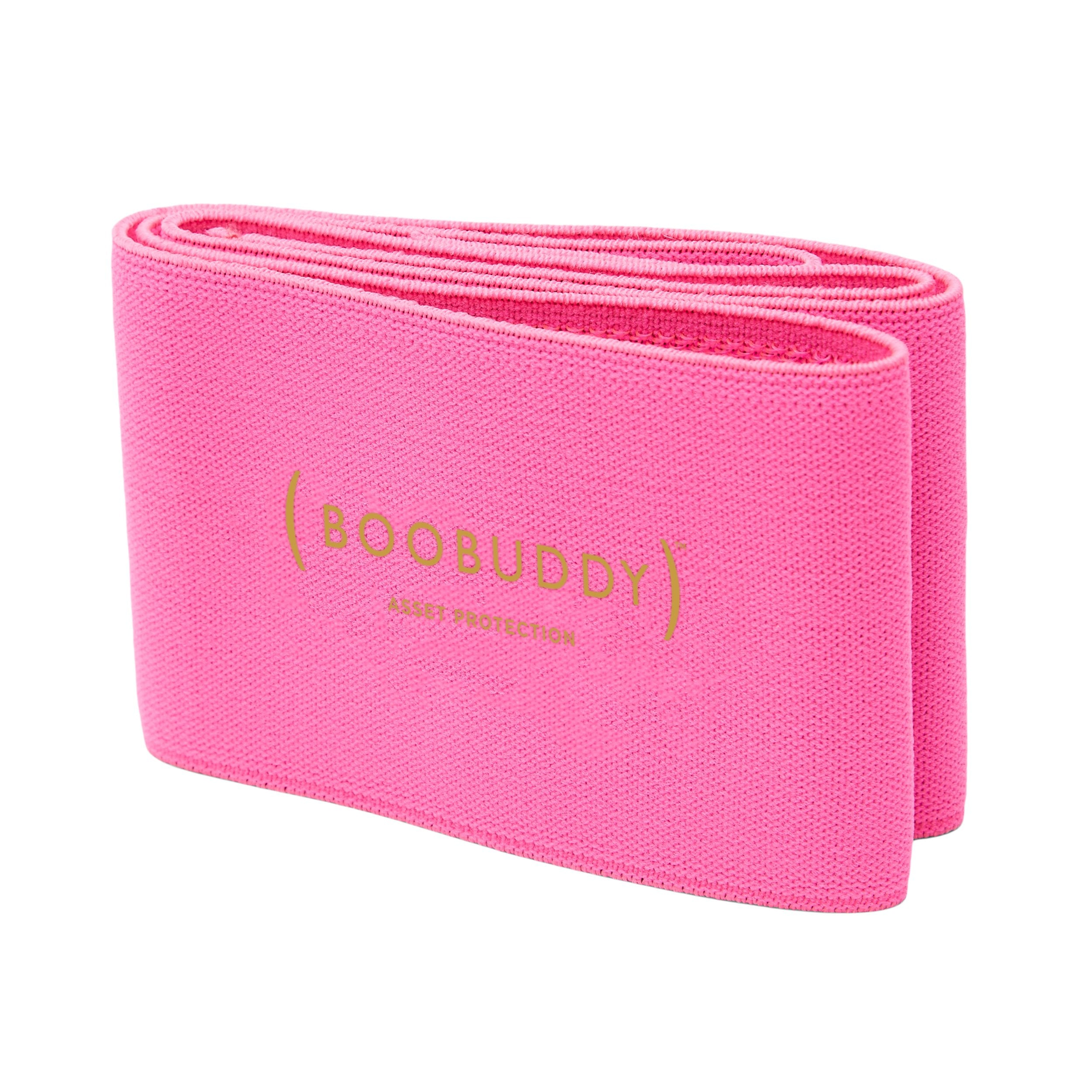 Boobuddy Adjustable Breast Support Band | Pink