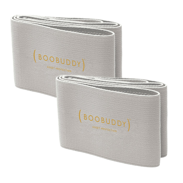 Boobuddy Adjustable Breast Support Band | Grey Bundle | Save £13!
