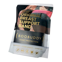Boobuddy Adjustable Breast Support Band | Black | Packaging