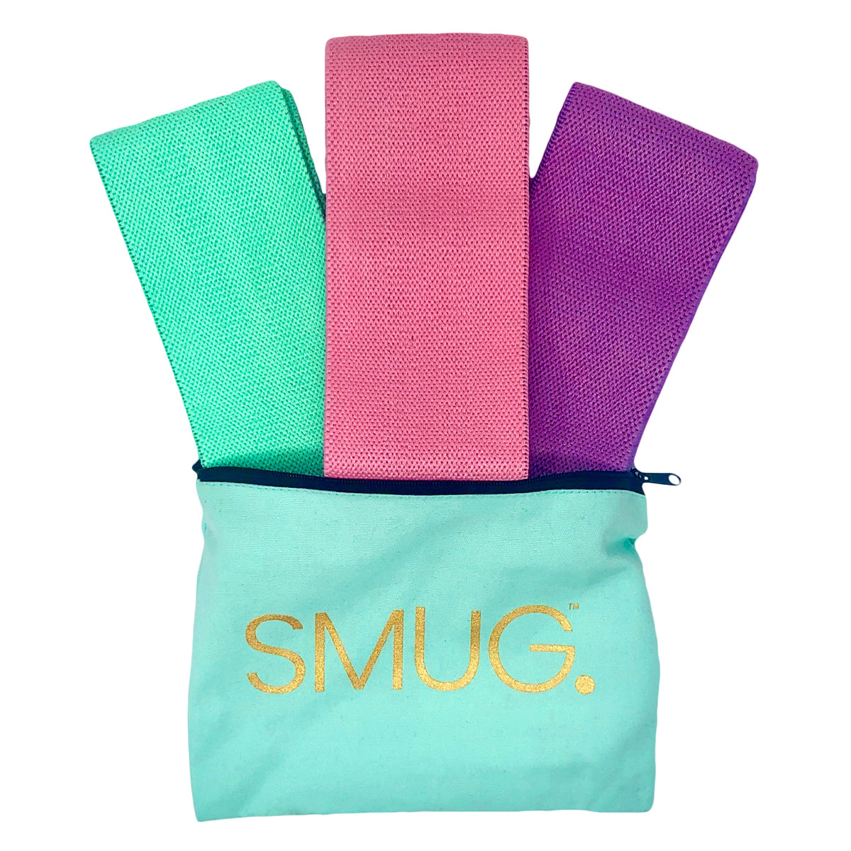 SMUG Active Hip & Booty Resistance Band Set