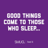 SMUG Active Contoured 3D Blackout Sleep Mask - Black