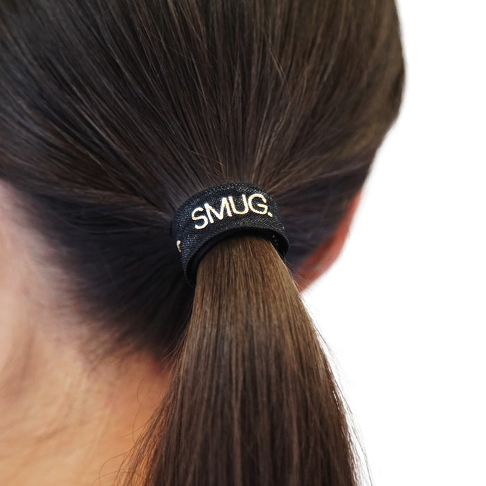 SMUG Printed Hair Bands with Logo Print