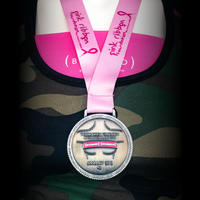 The Booband x Pink Ribbon Foundation Virtual Walk + Run Series | 10K Medal