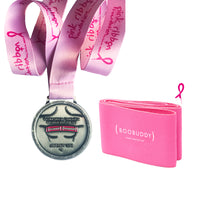 The Boobuddy x Pink Ribbon Foundation Virtual Walk + Run Series | 10K | Medal & Pink Boobuddy