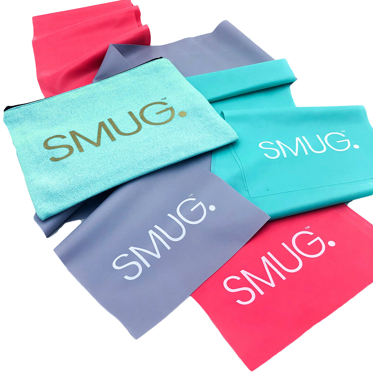 SMUG Active Pilates & Yoga Resistance Band Set