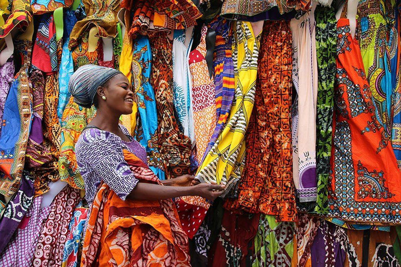 All You Need To Know About African Wax Print Fabric - ALLEON