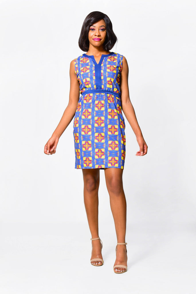 SHEATH DRESSDress - Alleon traditional african prints
