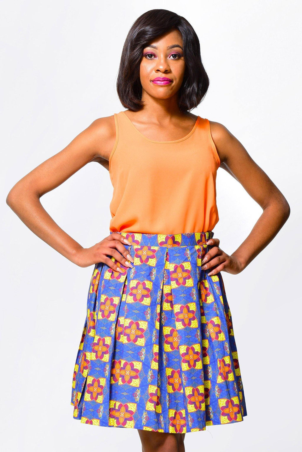 SkirtSkirts - Alleon traditional african prints