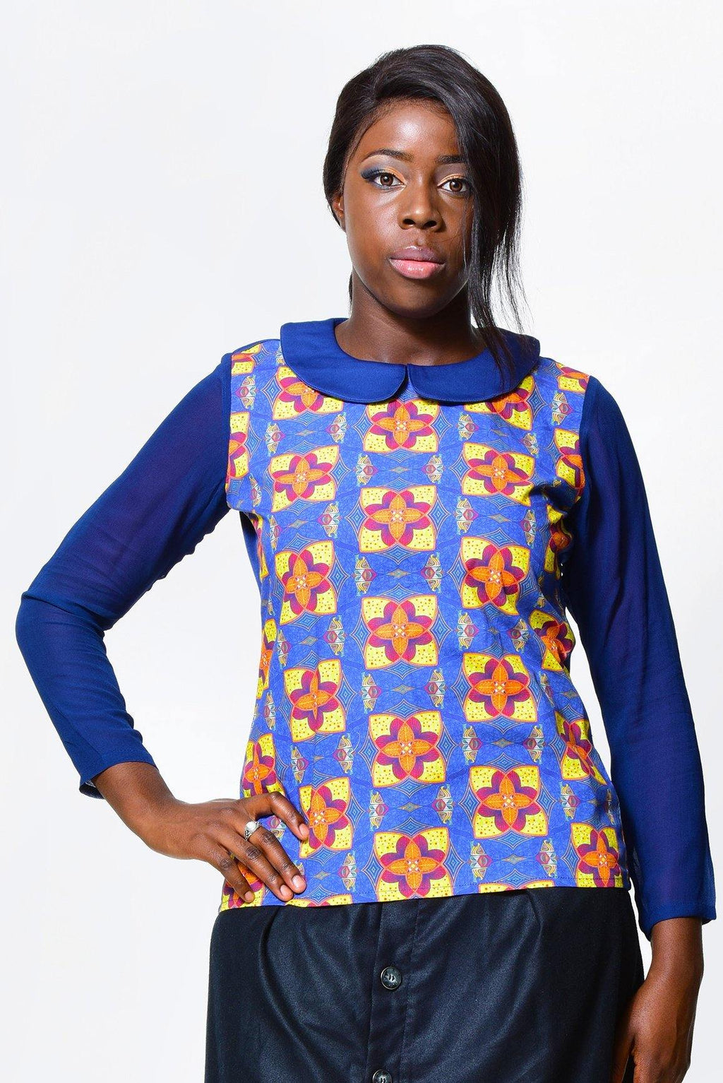 Blouse | African Print alleon1.myshopify.com
