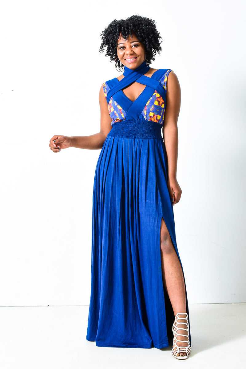 African Maxi Dress - Alleon