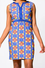 SHEATH DRESS | African Print Dress - ALLEON