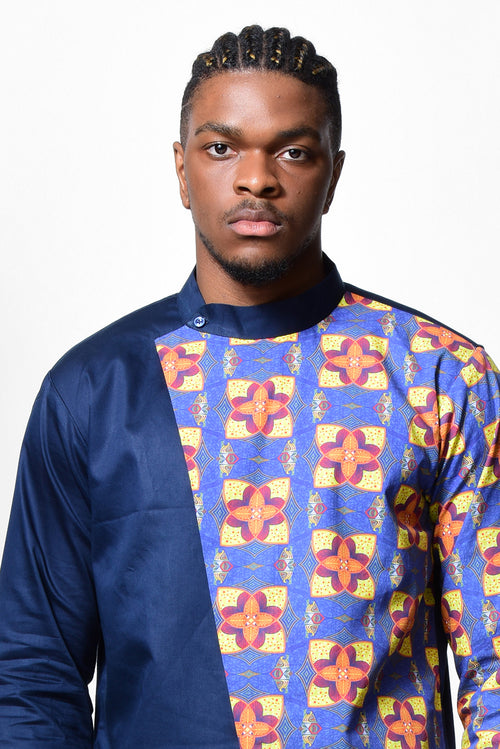 Keita African Men Long Shirt