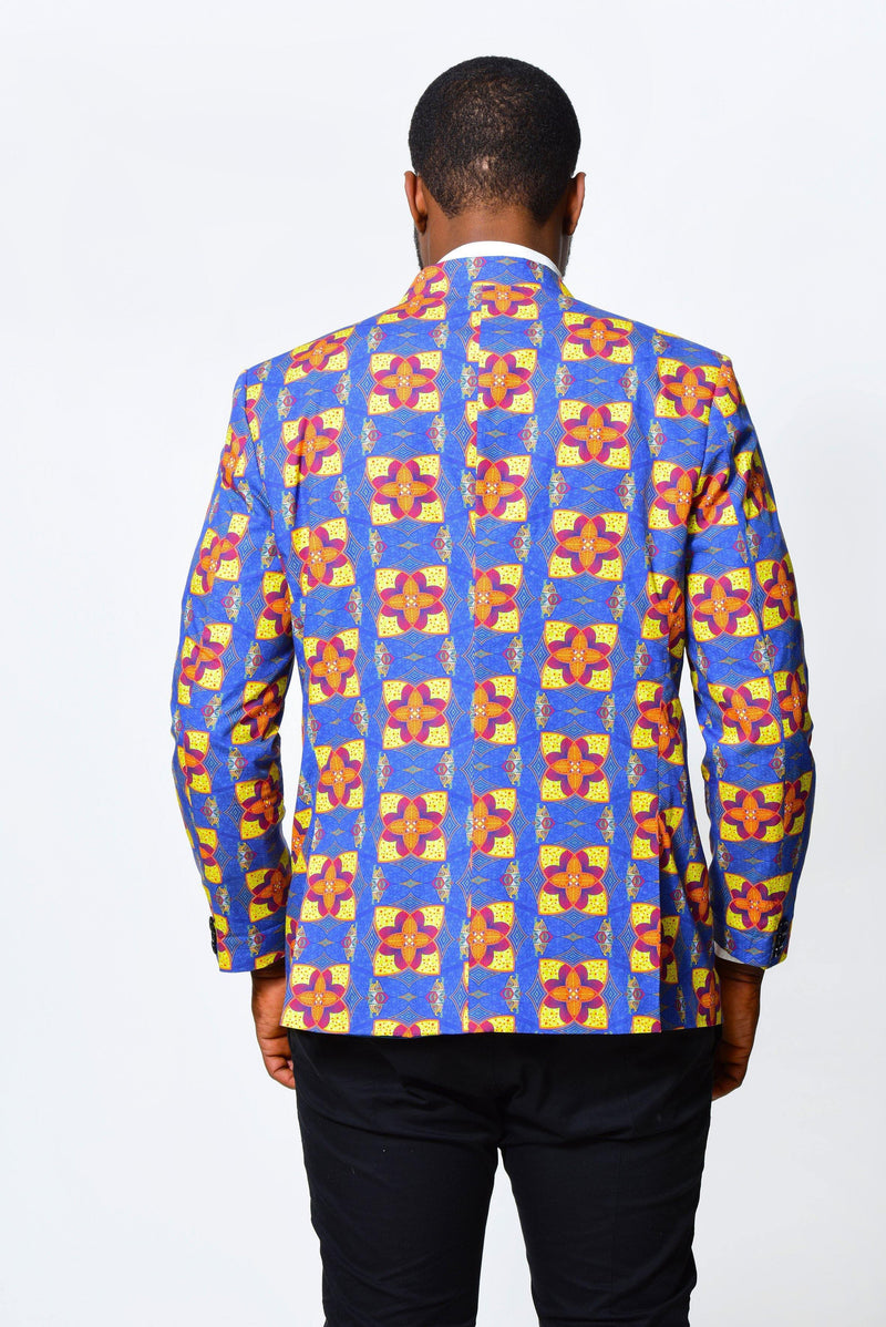 Men Jacket 2 | African Print - ALLEON