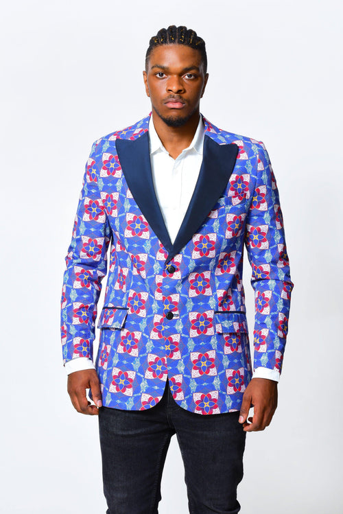 Men Jacket | African Print - ALLEON