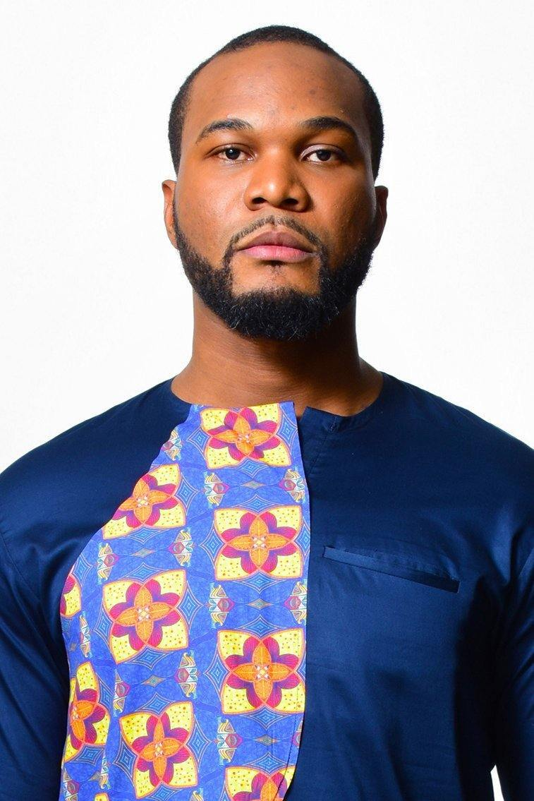 Chemise longue homme | Impression africaine - ALLEON