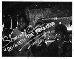Official Reggie Black & White Autograph Photos