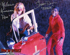 Official Shavar Ross & Melanie Kinnaman Color Autograph Photos