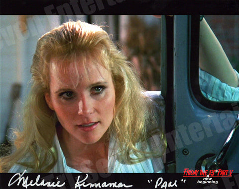 "Melanie Kinnaman Hand Signed 8x10 Photo Friday the 13th Part 5: A New Beginning - ""Pam Meets Tommy"""
