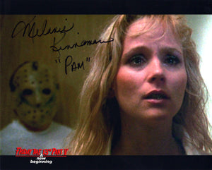 "Melanie Kinnaman Hand Signed 8x10 Photo Friday the 13th Part 5: A New Beginning - ""Where's Tommy?"""