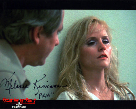"Melanie Kinnaman Hand Signed 8x10 Photo Friday the 13th Part 5: A New Beginning - ""Pam in Tears"""