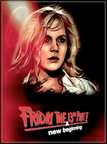 Melanie Kinnaman Pam Poster Friday the 13th Part 5 A New Beginning Art Print (11x17)
