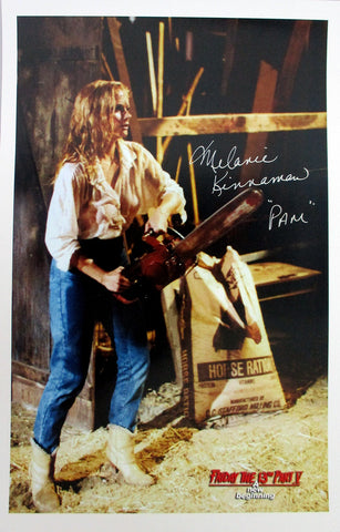 Melanie Kinnaman Hand-Signed Friday the 13th Part 5 11x17 Poster