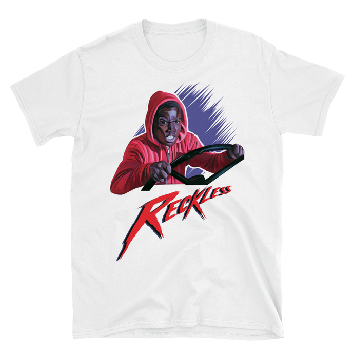 Reggie the Reckless T-Shirt Friday the 13th Part 5 A New Beginning Tee (White)