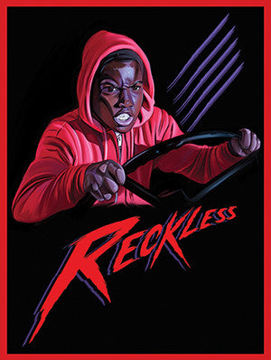 Reggie the Reckless Poster Friday the 13th Part 5 A New Beginning Art Print (18x24)