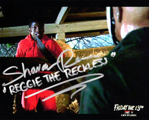 "Shavar Ross Signed Friday the 13th Part 5 ""Reggie and Jason"""