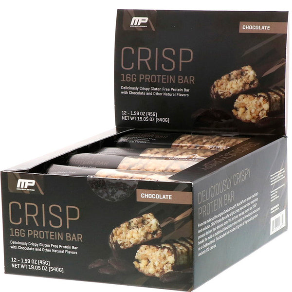 MusclePharm Combat Crisp Bar - 12 Bars