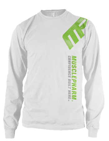MusclePharm Distressed Long Sleeve