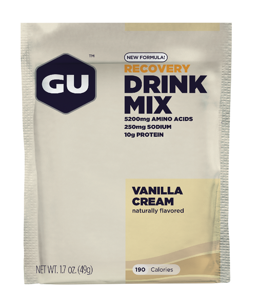 GU Recovery  Drink Mix - 12 Pack - Unlimited Nutrition  - 1