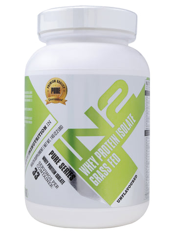 IN2 Whey Protein Isolate Grass Fed Unflavoured