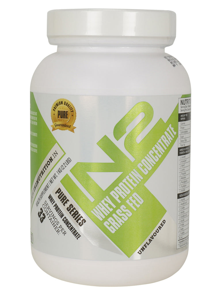 IN2 Whey Protein Concentrate Grass Fed Unflavoured