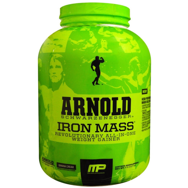 MP Arnold Schwarzenegger Series Iron Mass- 5 Lbs - Unlimited Nutrition  - 1