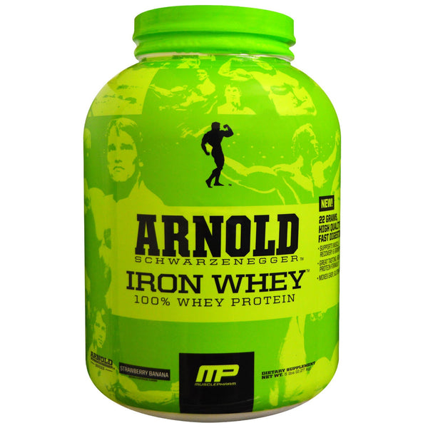 MP Arnold Schwarzenegger Series Iron Whey- 5 Lbs - Unlimited Nutrition  - 1