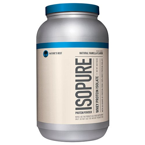 Nature's Best Isopure Natural Low Carb- 3 Lbs