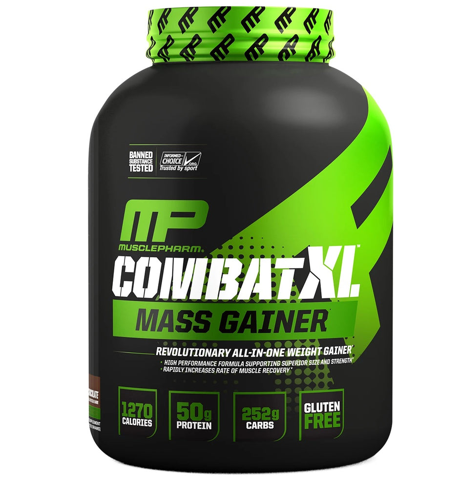 MusclePharm Combat XL Mass Gainer - 6Lbs