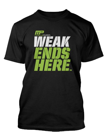 MusclePharm Weak Ends Here - Unlimited Nutrition  - 1