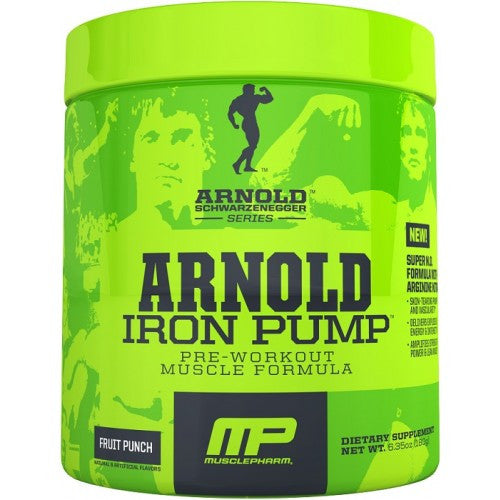 MP Arnold Schwarzenegger Series Iron Pump- 30 Serv - Unlimited Nutrition