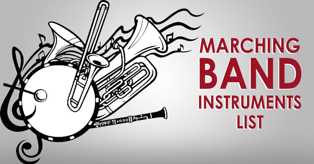 Marching Band Instruments List