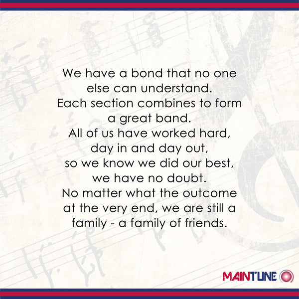 Quotes About Close Friendship Bonds Glamorous 11 Of The Most Inspirational  Marching Band Quotes Of All