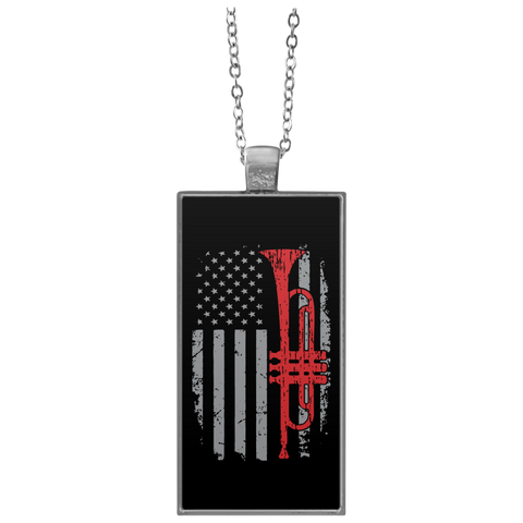 American Trumpet Necklace