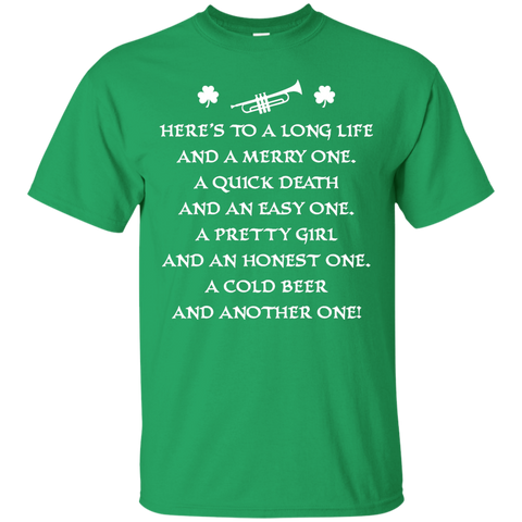 St. Patrick's Day Toast Trumpet T-Shirt 2017