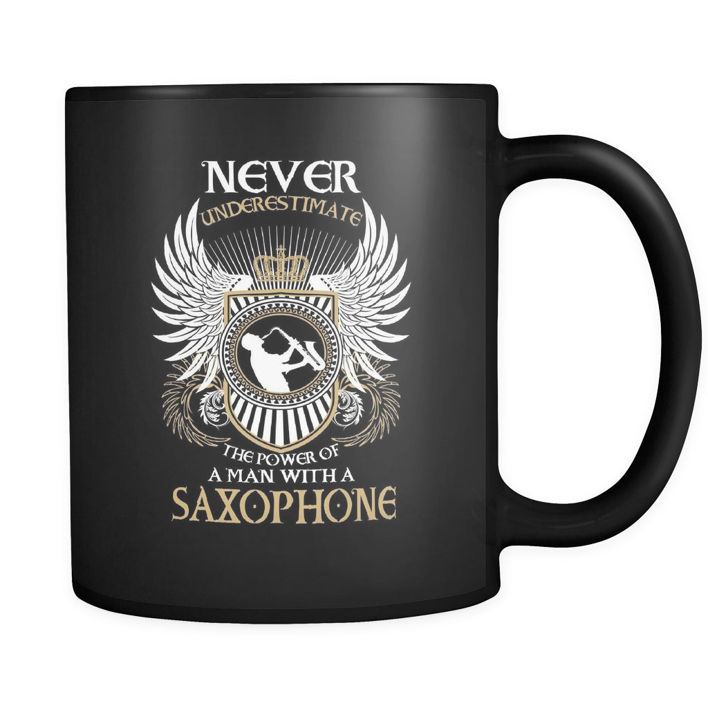 A Man With A Saxophone Mug - MainTune - 1